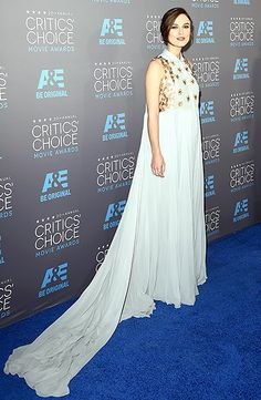 Keira Knightley at the 2015 Critics Choice Awards #hair #beauty #fashion #style
