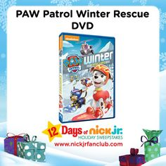 Get ready for winter with a PAW Patrol Winter Rescue DVD!