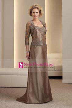 df125dfc405 A-line silk Taffeta Boned Bodice Sweetheart Neckline Mother of the Bride  Dress - Wedding Dresses UK Online Shop