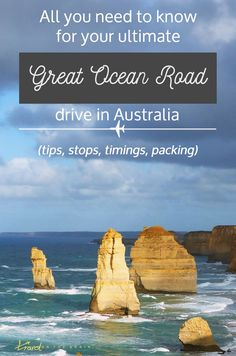 Your Ultimate Great Ocean Road Drive – Stops, Tips and Timings