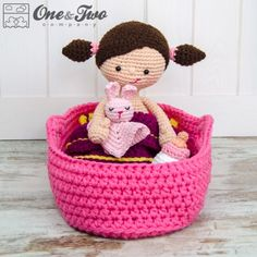 Little Me Playset Crochet Pattern by One and Two Company