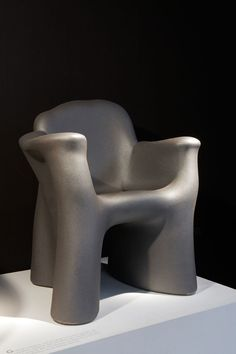 Gaetano Pesce; Lacquered Polyurethane 'Dalila Due' Armchair for Cassina, 1981.