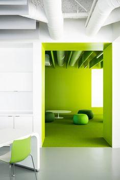 Limegreen See More Garciatamjidi Elastic 4 Office Decor Worke Cozy Architecture Design