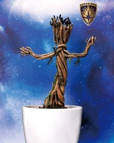 """Baby Groot 7"""" Life Size Model by Dragon Studios"""