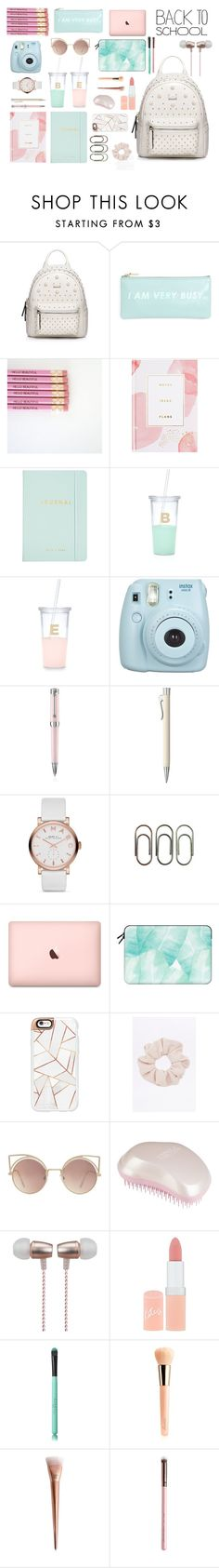 """""""Back To School"""" by inesvf20 on Polyvore featuring WithChic, ban.do, Thrive, Kate Spade, Fujifilm, Montegrappa, Faber-Castell, Marc Jacobs, Clips and Casetify"""