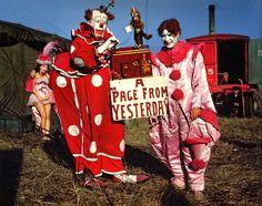 Fotos incríveis de circos nos anos 40 e 50