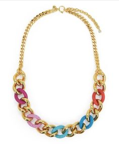 Color Me In Couture Chain Necklace