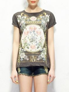 Baroque T-Shirt by Choies. Man is this hipster or what.