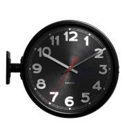 Karlsson Wallclock Numbers Black Doublesided