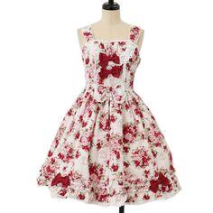 ♡ BABY THE STARS SHINE BRIGHT ♡ Sugar bouquet pattern jumper skirt シュガーブーケ柄ジャンパースカート http://www.wunderwelt.jp/products/detail8132.html ☆・。 。・゜☆How to buy☆・。 。・゜☆ http://www.wunderwelt.jp/user_data/shoppingguide-eng ☆・。 。・☆ Japanese Vintage Lolita clothing shop Wunderwelt  ☆・。 。・☆ #sweetlolita