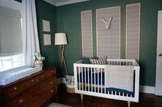 Baby Boy Nursery: One Room Challenge REVEAL