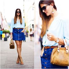 Get this look: http://lb.nu/look/7747414  More looks by Marianela Yanes: http://lb.nu/marilynscloset  #casual #classic #elegant http://marilynsclosetblog.blogspot.com.es/2015/09/about-blues-opticalh.html