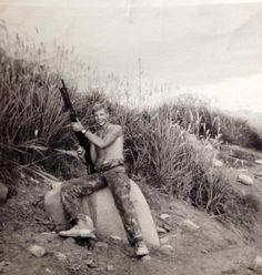 So proud of my cousin, shown here in Vietnam on the DMZ in1968. USMC Lance Corporal Carl Rasmussen. 2nd Battalion, 4th Marine Regiment Hotel Company....The Magnificent Bastards.  Semper Fi!