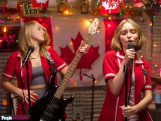 Watch Lily-Rose Depp Sing Styx's 'Babe' in Exclusive Yoga Hosers Clip http://www.people.com/article/lily-rose-depp-sings-in-clip-for-yoga-hosers