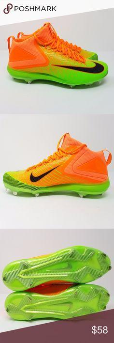 nike basketball shoes yellow custom baseball cleats