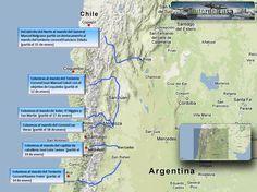 El cruce de Los Andes y San Martín Chile, Map, Saints, Argentina, History, Mountain Range, Earth, School, Cards