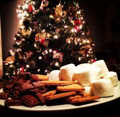 Christmas s'mores
