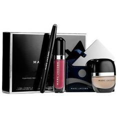 Marc Jacobs Beauty La Coquette Four Piece Favorites Collection Holiday 2014 Marc Jacobs Makeup, V Instagram, Holiday 2014, Christmas 2014, Christmas Gifts, Eyeliner Pen, Holiday Makeup, Make Up Collection, Beauty Essentials
