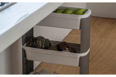 Loja Coza - Organizador Slim 2 Andares - Loft - brinox