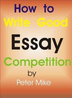 I'm writing an essay for a competition and need help?