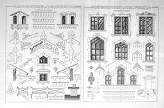 Thumbnail for version as of 4 September 2011 Victorian Design, Victorian Homes, Pergola, Door Entryway, Villa, Swedish House, House Drawing, Cabins And Cottages, Paper Houses