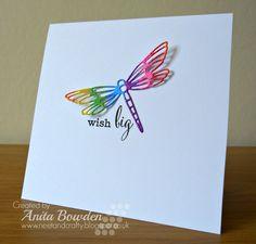 Thud! By Neet & Crafty: Rainbow Dragonfly