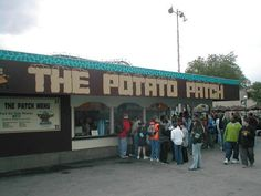 The Potato Patch at Kennywood Park, Pittsburgh, PA