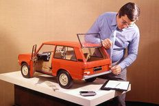 OG | 1970 Range Rover Mk1 | Scale clay model dated 1969. © British Motor Industry Heritage Trust