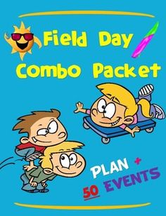 "A DETAILED PLAN WITH A ""BEACHY"" THEME AND 50 FIELD DAY EVENTS FOR MANY YEARS TO COMEThe following product is a combination of 2 of my previous products: 1) Field Day Plan - ""Surf's Up"" and 2) Fired up Field Day! - ""50 Fun Events"". Together, these products help you build a yearly Field Day program that has a ""top notch"" structure with the flexibility to change out events year after year, keeping things fresh and exciting.                                 2 Products in 11."