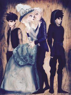 Edwardian Jelsa, Jack triplets, all in love with Elsa