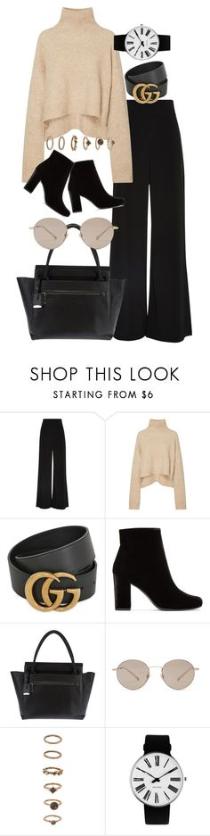 """Untitled #93"" by amanda-thoresson ❤ liked on Polyvore featuring AQ/AQ, Gucci, Yves Saint Laurent, Jil Sander, Forever 21 and Rosendahl"