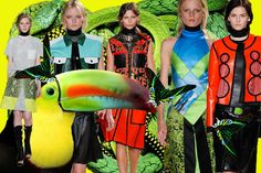 Proenza Schouler SS13 // Collage by Annabel Marciano