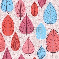 hojas de otoño dibujo: Patrón de color en las hojas de tema. Modelo del otoño con leaves.Can utilizar para el papel pintado, patrones de relleno, de fondo página web texturas de la superficie. Textura otoñal maravilloso