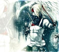 .Winter Anbu . Deidara by *sakimichan on deviantART
