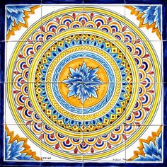 Hand Painted Decorative Tiles Pleasing Tile Murals Spanish Tile Victorian Tile Decorative Tile Review