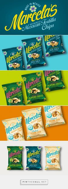 Marcela's Mexican Chip Packaging by Design Happy | Fivestar Branding Agency – Design and Branding Agency & Curated Inspiration Gallery