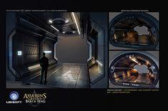 Assassin's creed 4 Black Flag concept art on Behance