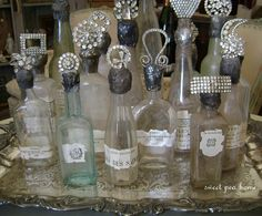 marburger farms show Altered Bottles, Antique Bottles, Vintage Bottles, Bottles And Jars, Glass Bottles, Mason Jars, Perfume Bottles, Vintage Perfume, Jar Crafts