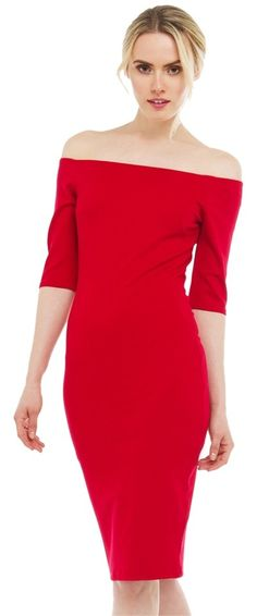 094cec05513 Akira Bardot Off The Midi- Dress. Free shipping and guaranteed authenticity  on Akira Bardot. Tradesy