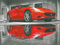 size Ferrari California made with Promarkers ,pencils from to and ink pens. Hope you like it Ferrari California Ferrari F430, Lamborghini Gallardo, Ferrari California, Pen Art, Car Insurance, Race Cars, Sketches, Racing, A3 Size