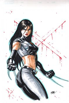 X 23 by Raheight Hq Marvel, Marvel Comic Universe, Marvel Comics Art, Comics Universe, Marvel Heroes, Comic Book Characters, Marvel Characters, Comic Character, Comic Books Art