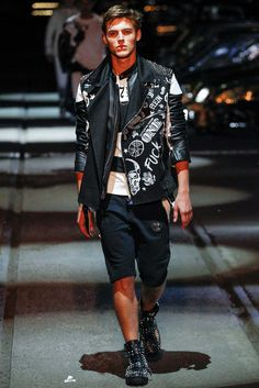 Philipp Plein Spring 2016 Menswear - Collection - Gallery - Style.com