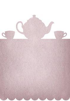 Free Printable Tea Party Invitation