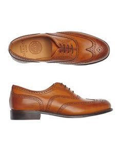 The Maisie brogue in chestnut from Cheaney & Sons