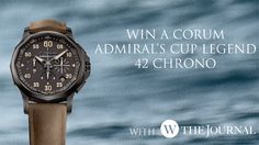 Win a Corum Admiral's Cup Legend 42 Chrono - http://www.competitions.ie/competition/win-a-corum-admirals-cup-legend-42-chrono/