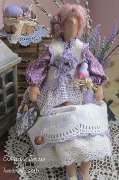 Купить А у нас в Провансе ....даже гуси цвета лаванды))) - сиреневый, Пасха, прованский стиль ☆