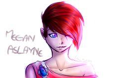 Megan Aslayne by furikoo on DeviantArt My Drawings, My Arts, Deviantart, Comics, Anime, Character, Comic Book, Anime Shows, Comic Books