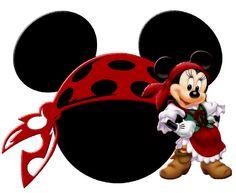 Pirate Minnie -- too darn cute!