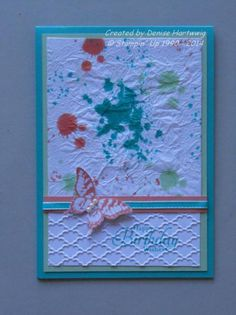 Faux Silk Grunge by niece - Cards and Paper Crafts at Splitcoaststampers