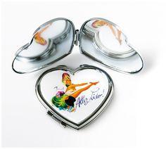 Miroir coeur #Vintage #Lido